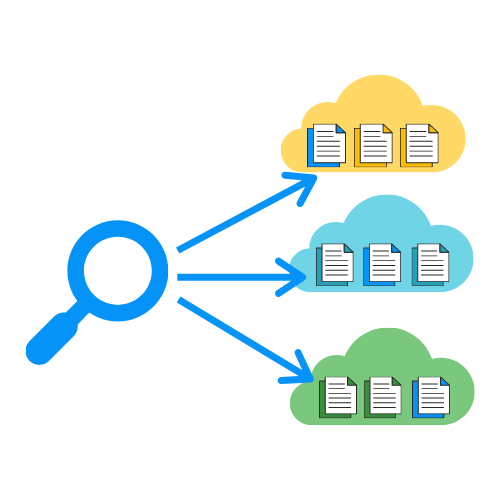 Find files in multiple cloud storage at once